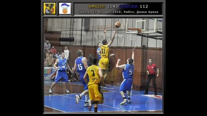 Releto - Tim Nepobedim Yambolbasketball