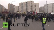 Russia: Nationalists march through Moscow on Unity Day
