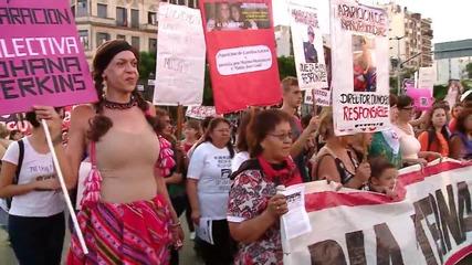 10 000 в Аржентина се обявиха за легализиране на абортите