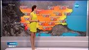 Прогноза за времето (08.05.2015 - сутрешна)