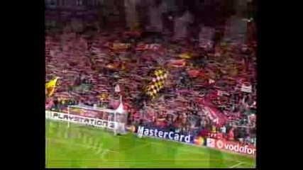 Youll Never Walk Alone Liverpool Vs Barcelona