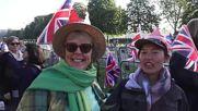 В Уиндзор тълпи от хора са в очакване на кралската сватба