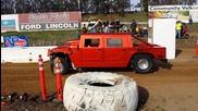 Santa Maria Speedway sand drags бърз Hummer H1