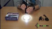 Мощен акумулаторен фенер една акумулаторна батерия 18650, зарядно T6 къмпинг риболов кола палатка