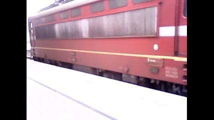 бръз влак на гр Пазарджик