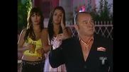 . Илда се връща от свекървата си и вижда странни мъже и Каталина им казва с Албейро .