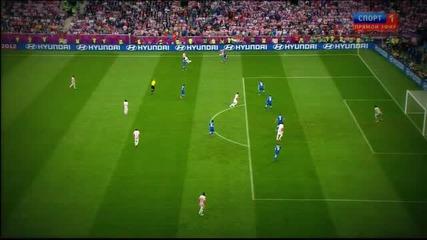 Италия - Хърватия 1-1