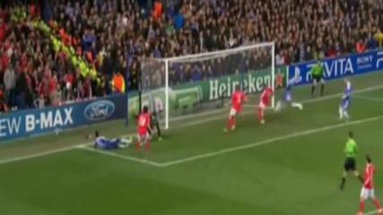 Непростимия пропуск на Рамиреш срещу Бенфика ||chelsea Vs Benfica 1-0 [apr.4 2012] [ H D ]