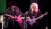Tony Iommi and Lita Ford