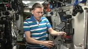 ISS: Sputnik 3D printed satellite introduces itself from space