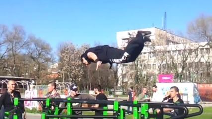 Street Fitness състезание Стара Загора [ Titan freestyle ]