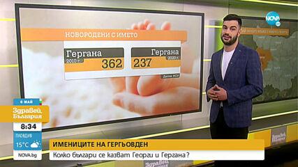 Колко българи празнуват на Гергьовден?