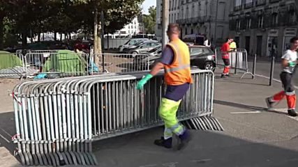 France: Migrant tent village cleared from city centre