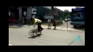 Bmx vs Skatebord