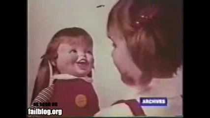 Зловеща Реклама На Кукла