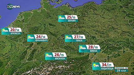 Прогноза за времето на NOVA NEWS (28.07.2021 – 20:00)