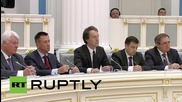 """Russia: """"40 percent of investment directed towards fuel and energy"""" - Putin"""