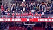 Радостта на Арсенал пред начумерения Моуриньо