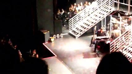 Джъстин и Селена на концерта на Деми