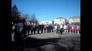 Поднасяне На Венеца Пред паметника по случай 3-март в с.прилеп!!!