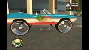 Ненормални коли в играта Gta San Andreas