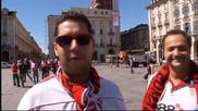 Феновете в Торино загряват за финала на Лига Европа