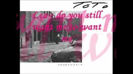 Toto - Lea (lyrics)