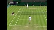 Wimbledon 2008 : Родик - Шванк