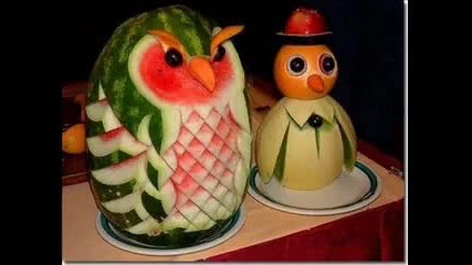 Изкуство с плодове
