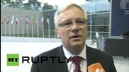 Luxembourg: ECOFIN ministers meet to discuss bridge financing