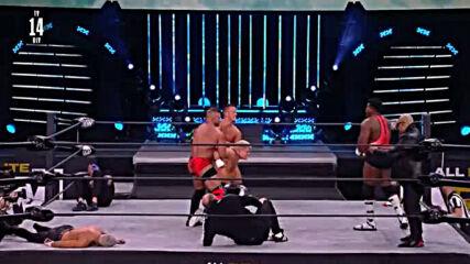 The Icon Sting debuts on Aew Dynamite