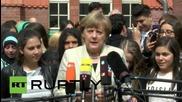 """Германия: Меркел на посещение в училище, в Берлин, за да промотира темата """"Европа и интеграцията"""""""