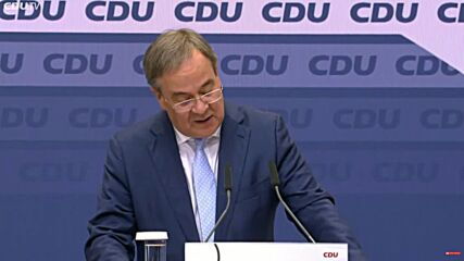 Germany: 'Of course I have my personal share' Laschet on disappointing election results