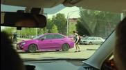 Subaru Wrx Sti 2015 Сменя Цвета Си За Миг. Шашка Хората.