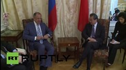 Austria: Lavrov and Wang Yi meet on sidelines of Iran nuclear talks