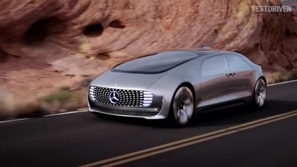 Mercedes-benz - Кола от бъдещето!!!
