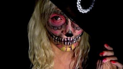 Halloween Skullcandy Makeup / Aia Yorgova