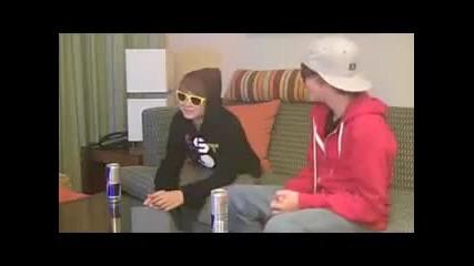 За първи път в сайта Justin Bieber Christian Beadles [red Bull Boys]