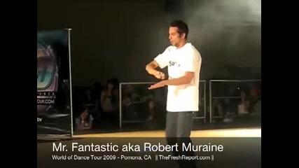 Роберт Мърайн танцува !!