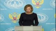 Russia: US ignoring Russian document detailing Syrian civilian deaths - Zakharova