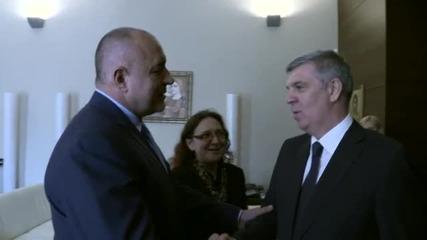 Борисов се срещна с председателя на Камарата на депутатите на Румъния