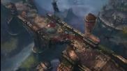 diablo 3 - Barbarian Leap Gameplay