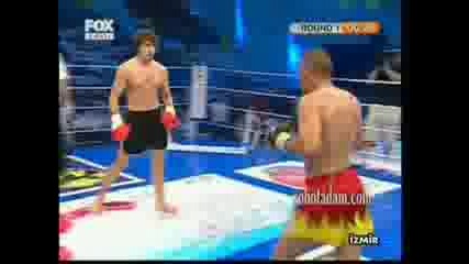 Владимир Вълев (питбула) срещу Яхия Алемдаг част 1