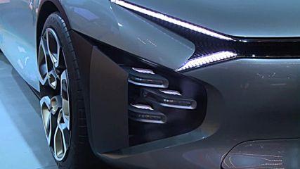 France: Citroen unveil latest model at Paris Motor Show