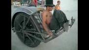 Трактор със една гума