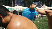 Around the world: Turkish oil wrestling is a slippery tradition