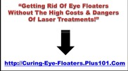 New Treatment For Eye Floaters