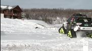 Ken Block и неговото Subaru - на сняг!