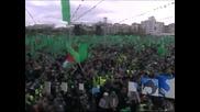 Хамас отбеляза с многоброен митинг 25 години от създаването си