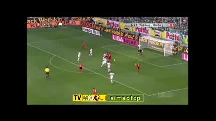 2009 8 23 Wolfsburg - Hamburg 0 - 2
